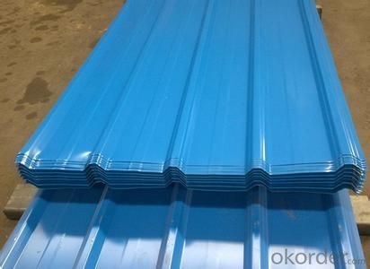 PRE-PAINTED GALVANIZED STEEL CORRUGATED SHEETS