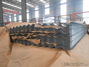 Corrugated Hot -Dip Galvanized Steel Sheet