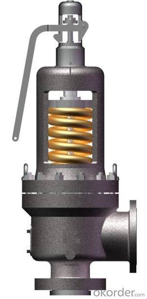 High Performance WCB Safety Valve For Steam Service