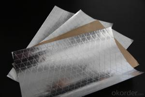 Aluminum Foil Facing, Single Side Paper Foil with Fiberglass Scrim
