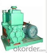 Belt Type Rotary Vane Vacuum Pump