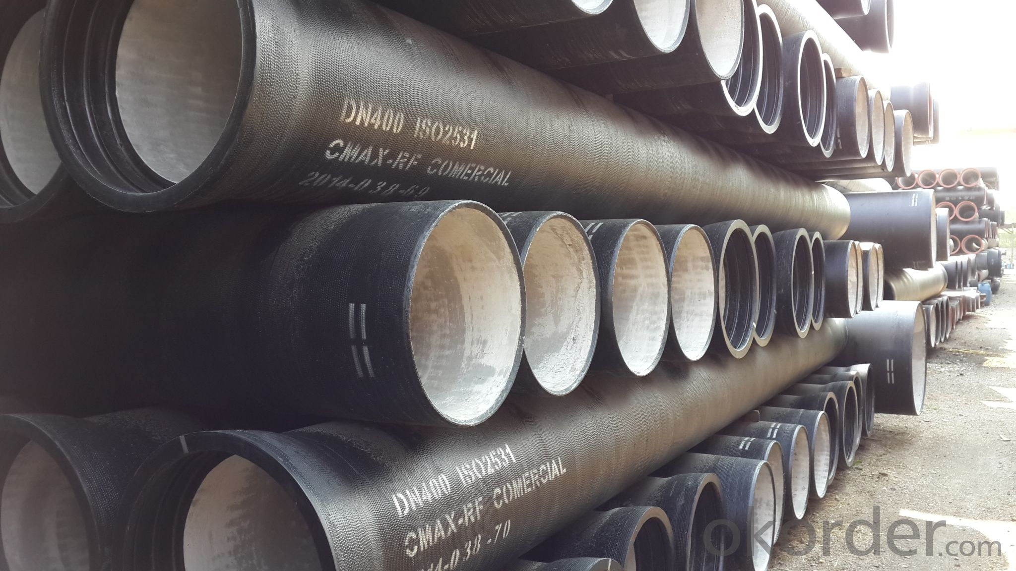 Ductile Iron Pipe of China DN600 EN545 On Chip Price