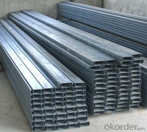 Galvanized strut C channel thickness 2mm