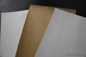 Aluminum Foil Facing Made of by White Polypropylene Film, Fiberglass Scrim and Kraft Paper