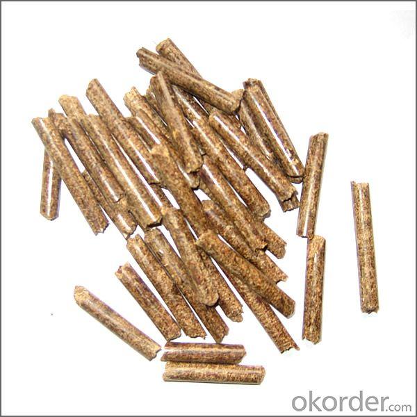 wooden pellet (8mm)