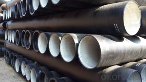 Ductile Iron Pipe of China High Quality DN200-DN900 EN545/EN598/ISO2531