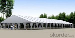 Large party tent, pvc tent