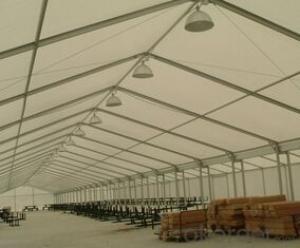 Outdoor gazabo aluminum PVC storage warehouse tent