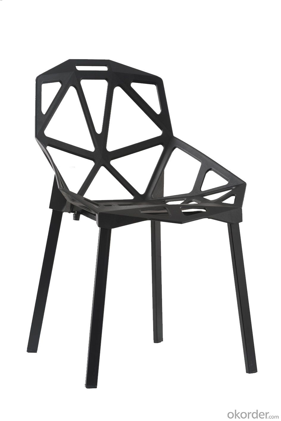 Hot sell mordern design plastic chair