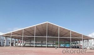 Big aluminum frame marquee tent