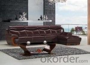 Leather sofa model-7