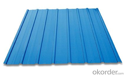 corrugated colored steel sheets