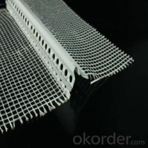 PVC angle bead/ PVC corner bead with mesh for building wall
