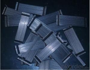 Glued Hook End Steel Fiber with Good Price