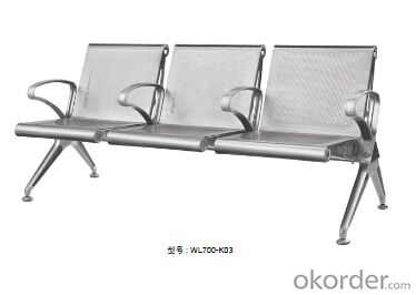 Latest Stainless Steel Waiting Chair 700-03