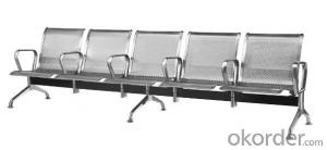 Latest Stainless Steel Waiting Chair 500-03F3
