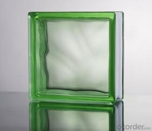 Glass Block (Cloudy Green)