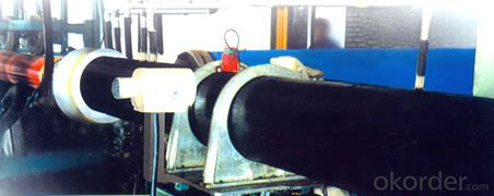 HDPE one method/two method polyurethane heat preservation pipe production line