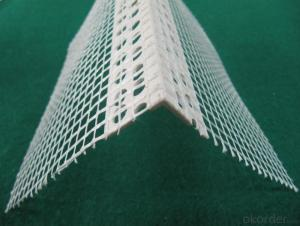 High quality pvc corner bead with mesh