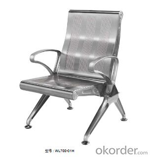 Latest Stainless Steel Waiting Chair 600-K03H