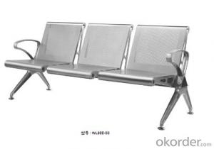 Latest Stainless Steel Waiting Chair 800-03