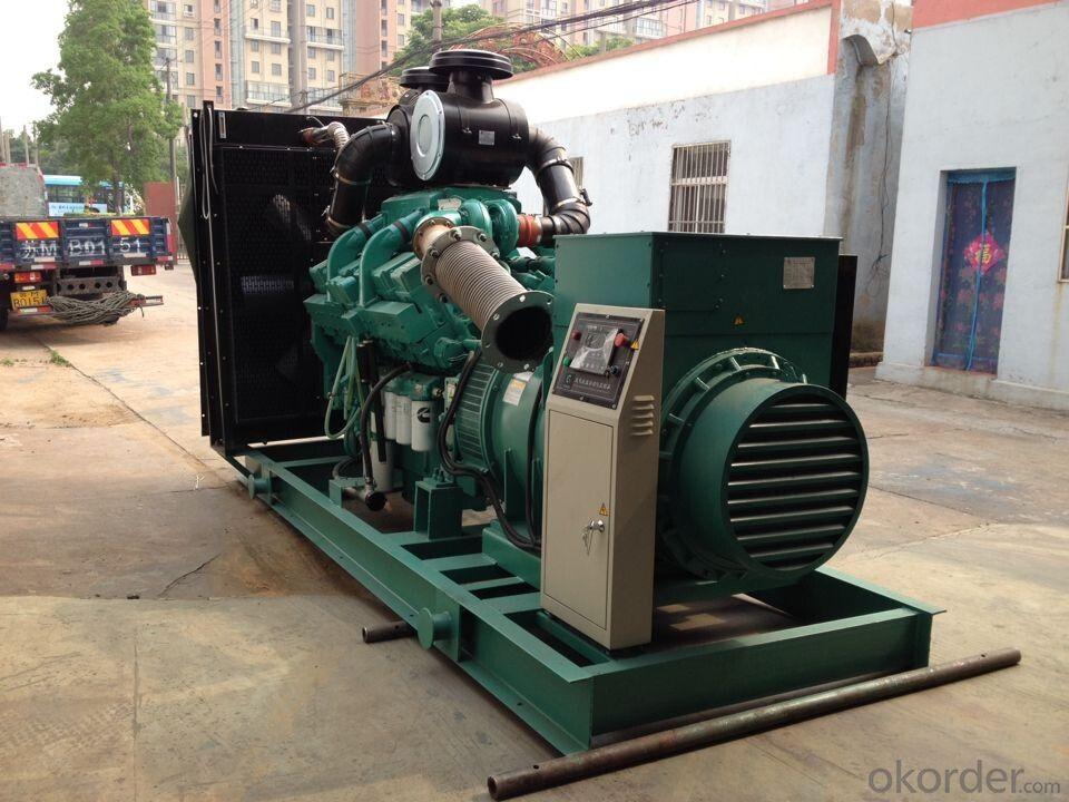 Volvo Generator settings