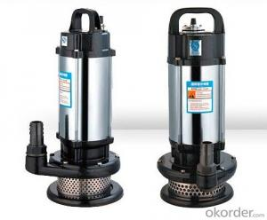 QDX.QX Series Stainless Steel Submersible Pumps