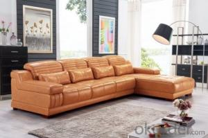 Leather sofa model-12