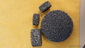 Ceramic Foam Filter for iron Silicon Carbide