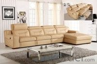 Leather sofa model-2
