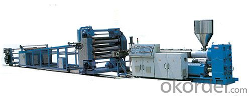 PP,PE,PVC,ABS,PET Plastic Extruding Sheet Production Line