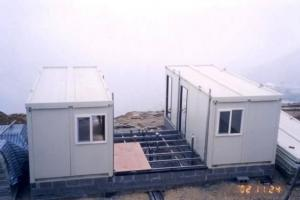 Container house for holiday