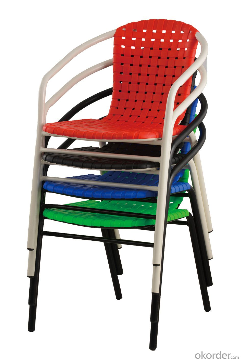 Modern design leisure outdoor stackable chair