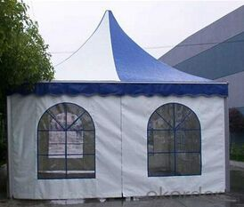Pagoda waterproof service marquee tent 4X4m