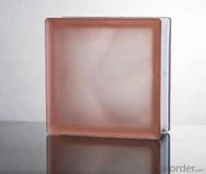 Glass Block (Misty Cloudy Pink)