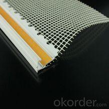 Installing virgin corner bead with mesh in German market
