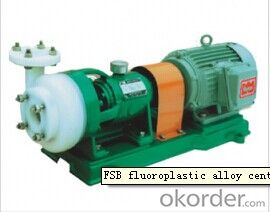 FSB Fluoroplastic Alloy Centrifugal Pump
