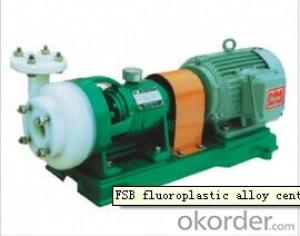 FSB Fluoroplastic Alloy Centrifugal Pump