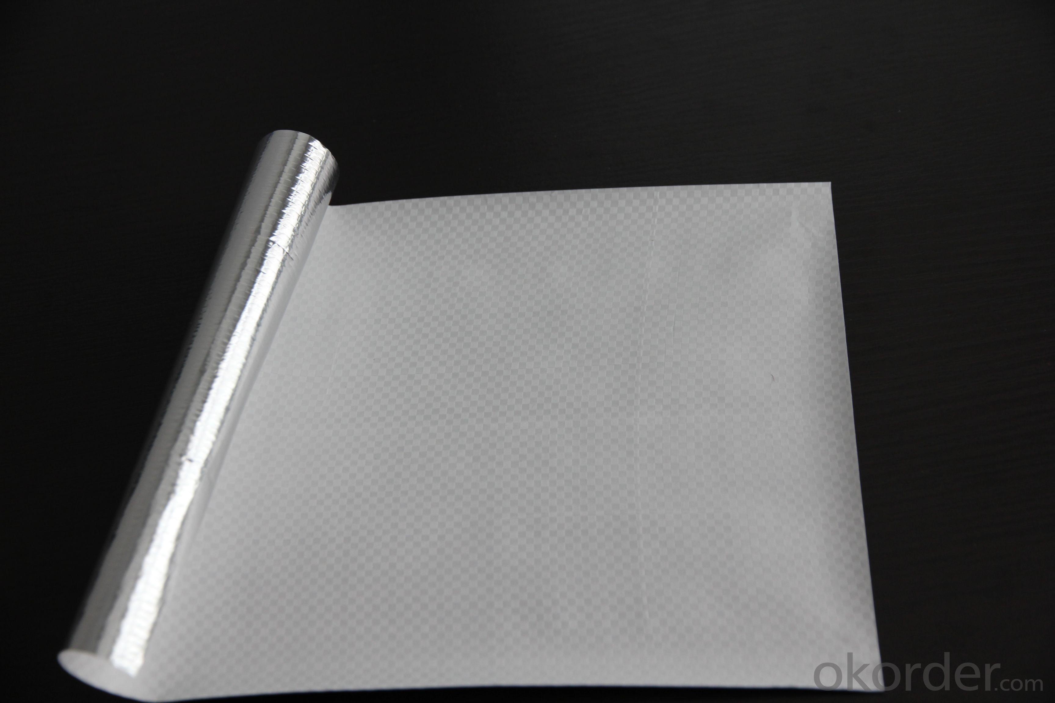 Aluminum Foil Facing, Metalized Pet Woven Cloth