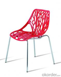 Wholesale  Stackable plastic dining chair