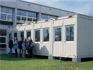 High quality decorated container house for Dormitory