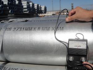 """Galvanized  Hot Rolled Steel Pipe 1-4"""""""