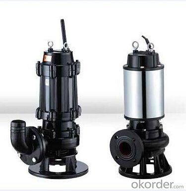 Sewage Submersible Centrifugal Pumps ( WQ Series )
