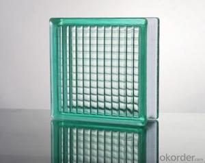 Glass Block (Parallel Turquoise)