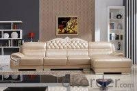 Leather sofa model-6