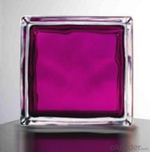 Glass Block (In - Colored Aubergine)