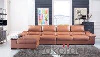 Leather sofa model-9
