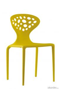 Modern leisure garden plastic chair outside restaurant chair
