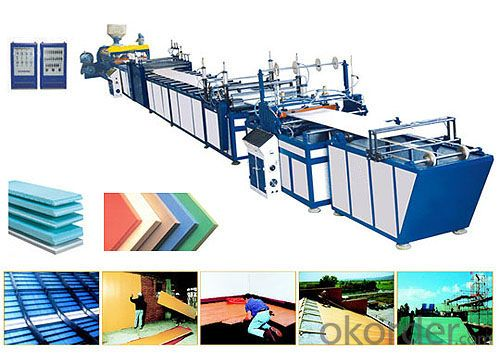Polystyrene xps foam board/sheet/plate extrusion line