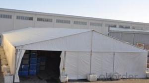 Big aluminum frame warehouse marquee tent